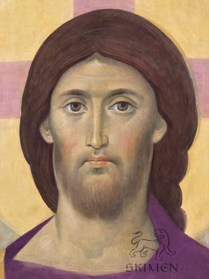 Спаситель фреска иконостас Беслан