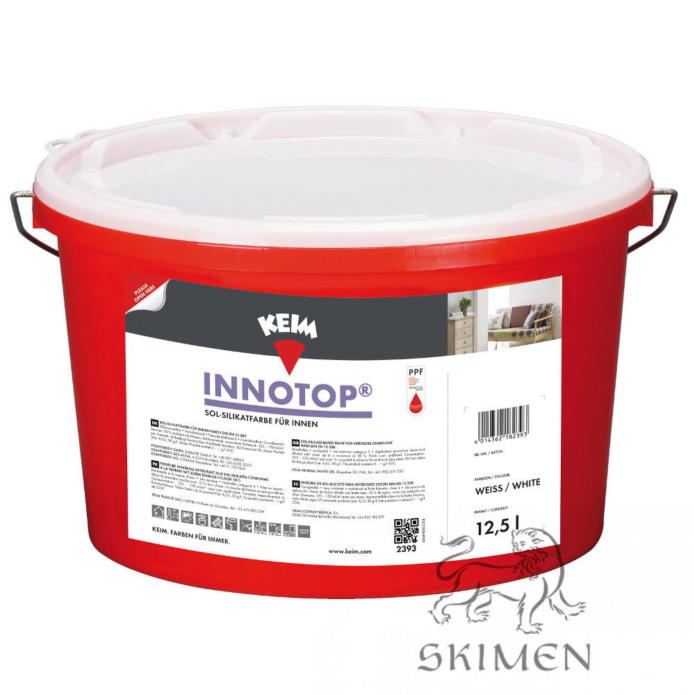 Интерьерная золь-силикатная краска KEIM Innotop 12,5 л Белая